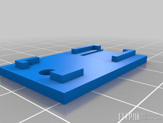 微处理器外壳 3D模型  图2