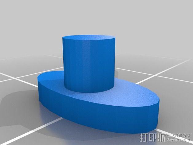 微处理器外壳 3D模型  图4