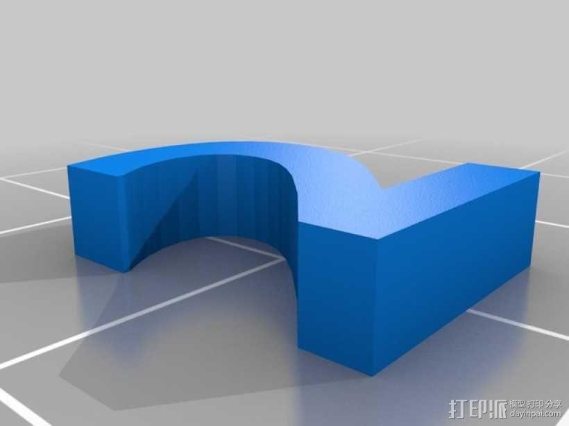 英文字母和数字模型 3D模型  图1