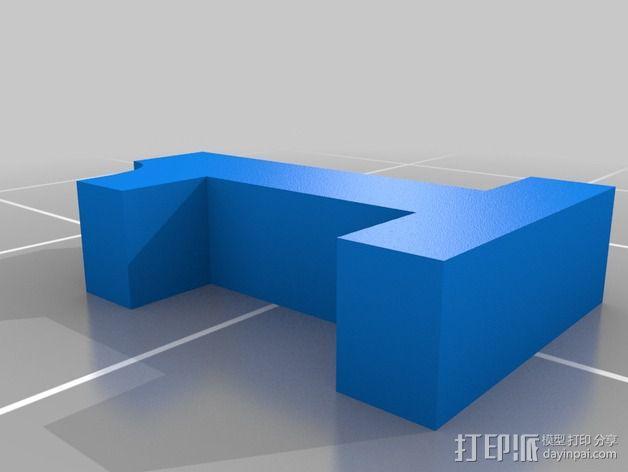 英文字母和数字模型 3D模型  图5