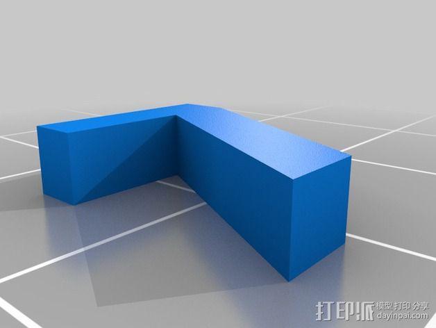 英文字母和数字模型 3D模型  图9