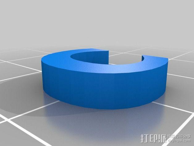 英文字母和数字模型 3D模型  图12