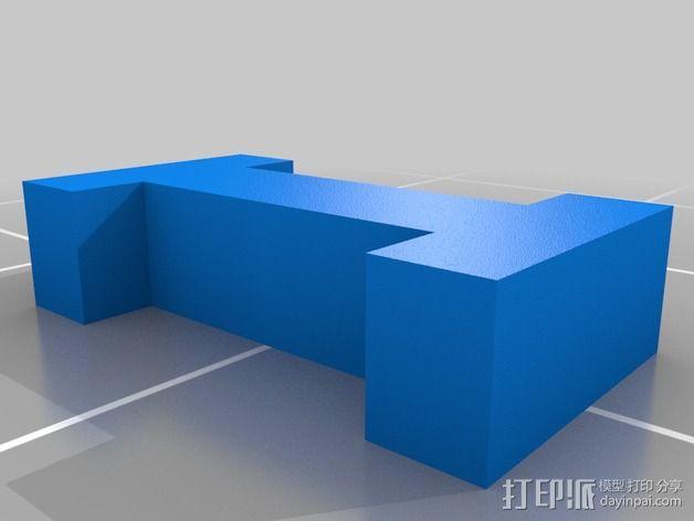 英文字母和数字模型 3D模型  图19