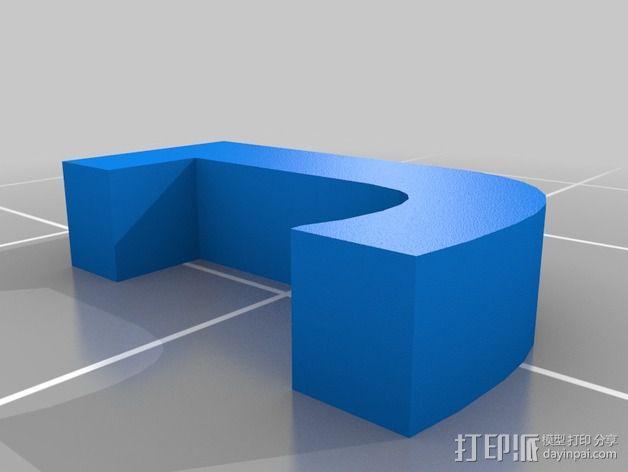 英文字母和数字模型 3D模型  图20