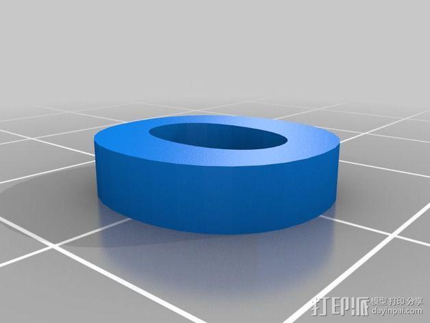 英文字母和数字模型 3D模型  图27