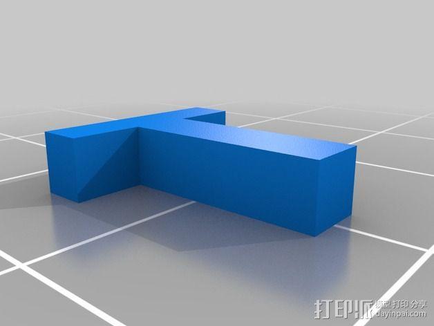 英文字母和数字模型 3D模型  图30
