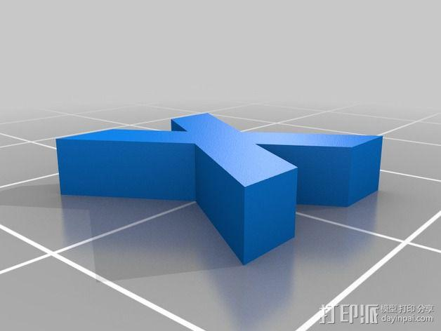 英文字母和数字模型 3D模型  图33
