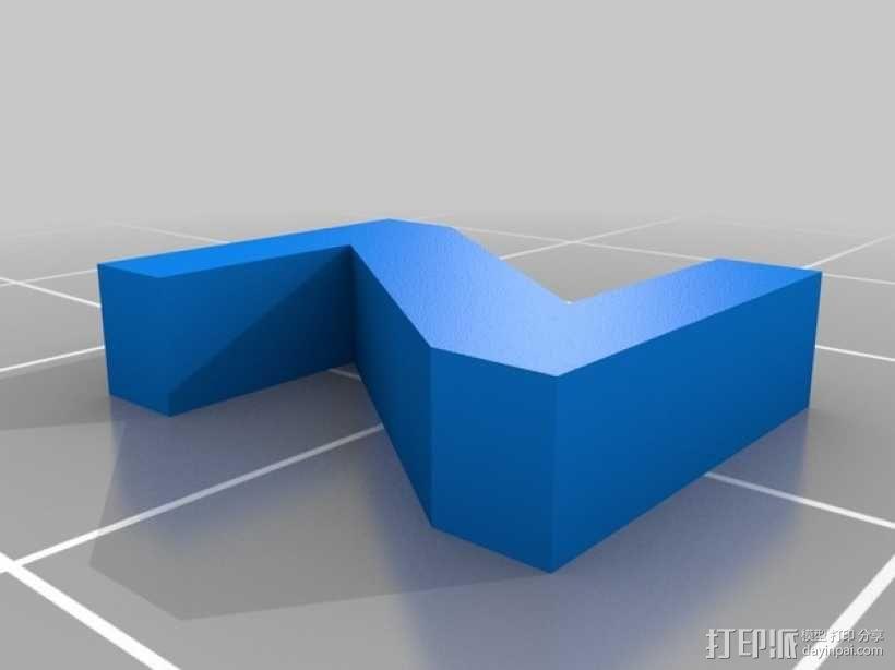 英文字母和数字模型 3D模型  图36
