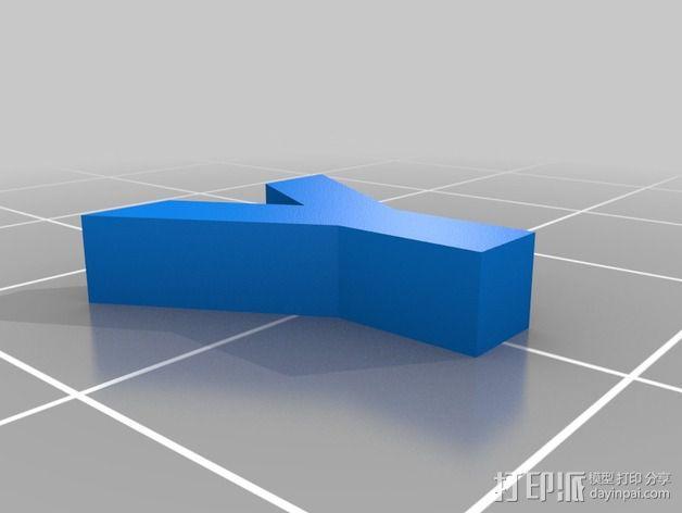英文字母和数字模型 3D模型  图35