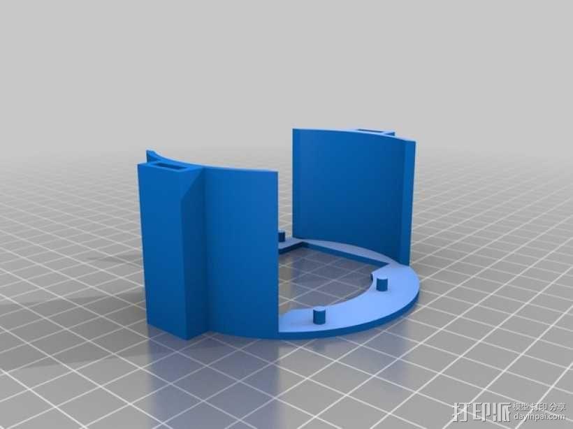 仿生蜘蛛机器人v1.0 3D模型  图3