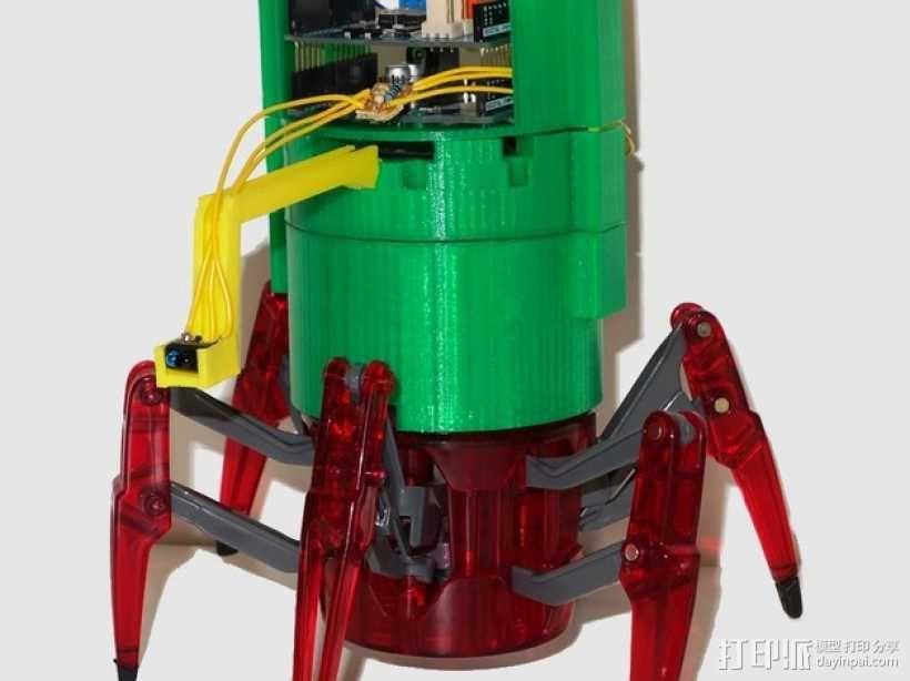 仿生蜘蛛机器人v1.0 3D模型  图1