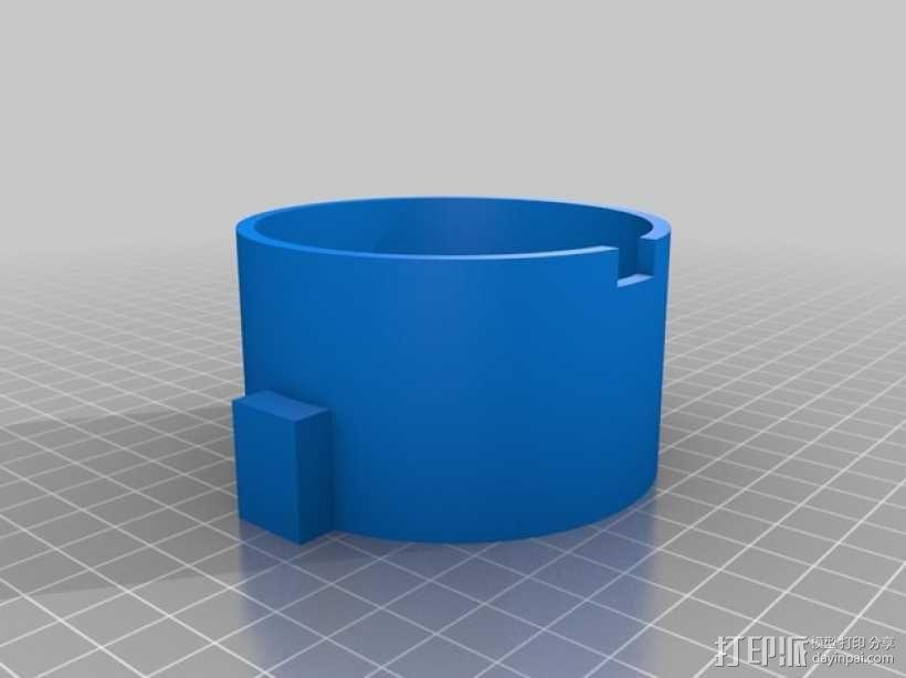 仿生蜘蛛机器人v1.0 3D模型  图4