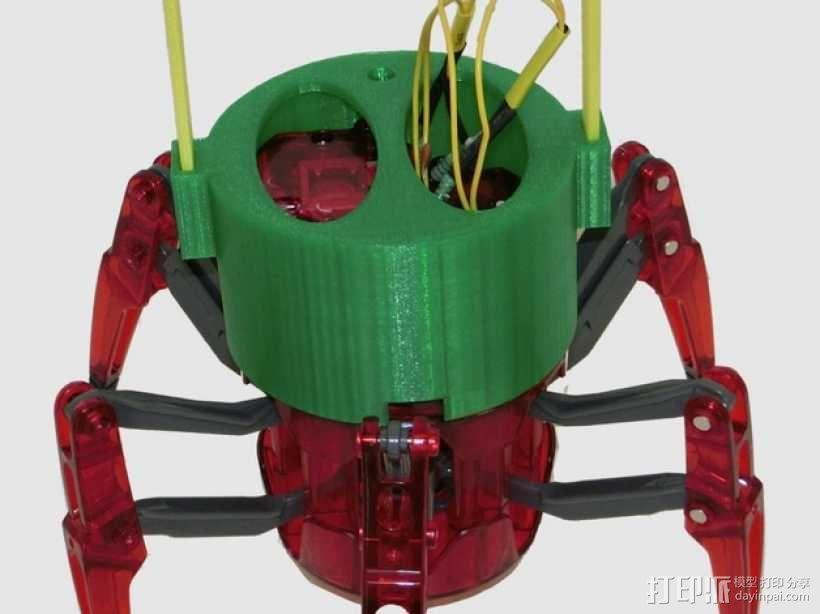 仿生蜘蛛机器人v1.0 3D模型  图8
