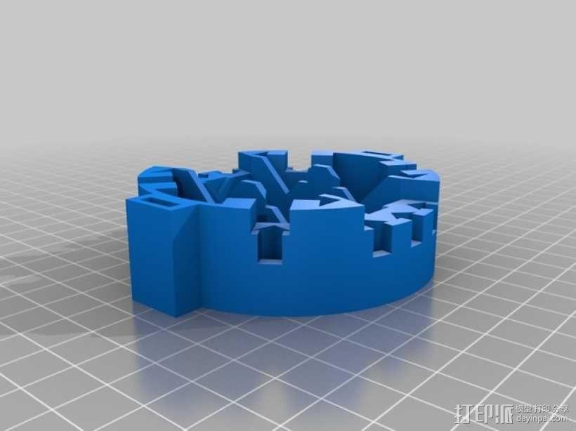 仿生蜘蛛机器人v1.0 3D模型  图6