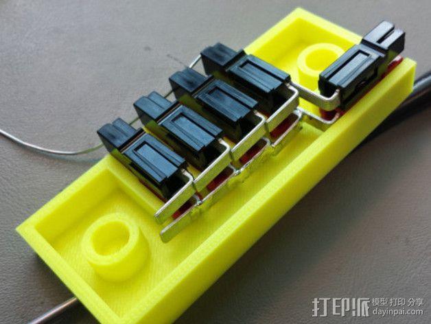 参数化接线盒 3D模型  图4