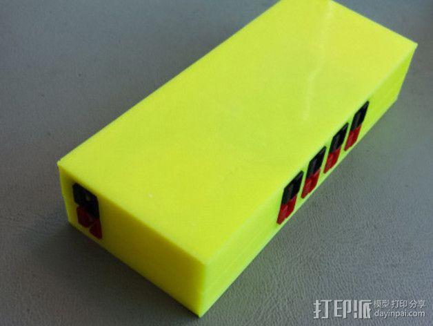 参数化接线盒 3D模型  图5