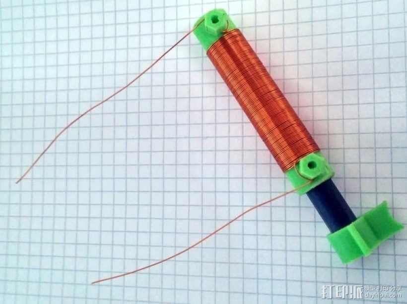 可调节线圈 3D模型  图1