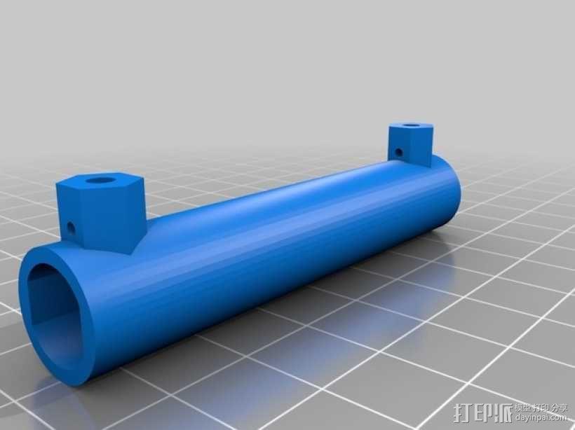 可调节线圈 3D模型  图2