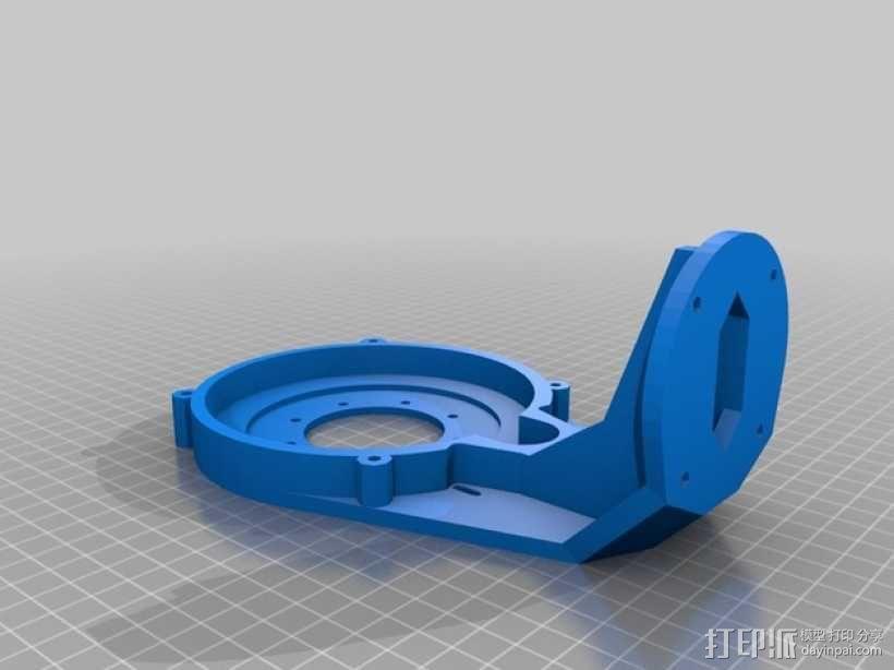 激光炮塔  3D模型  图3