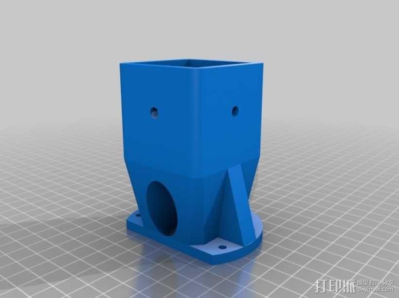 激光炮塔  3D模型  图2