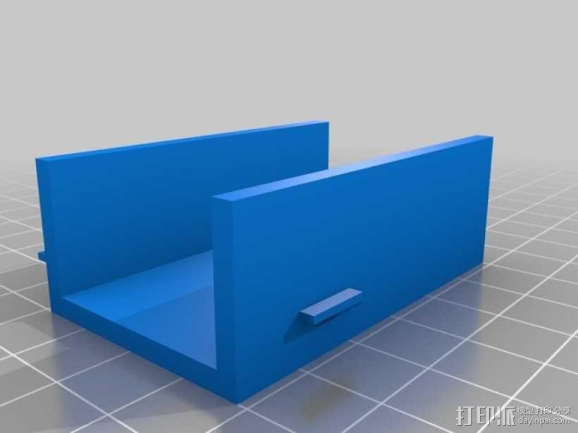 TBS Discovery多轴航拍器 相机支架 3D模型  图2