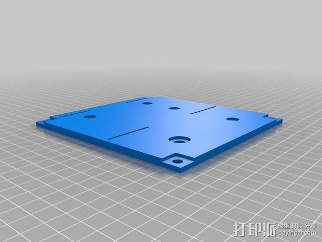 波音737飞机仪表盘面板 3D模型  图6