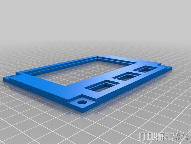 波音737飞机仪表盘面板 3D模型  图10