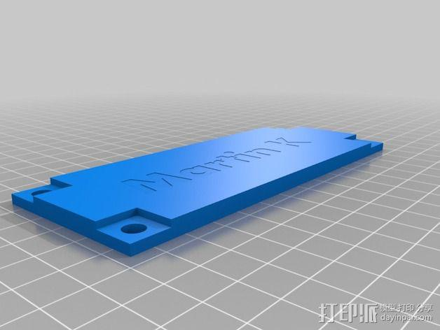 波音737飞机仪表盘面板 3D模型  图12