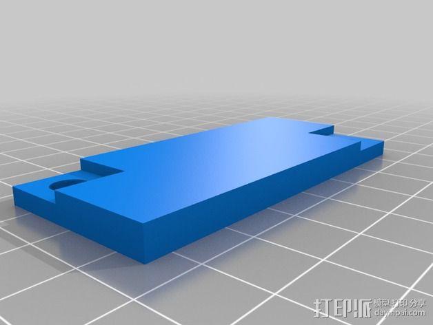 波音737飞机仪表盘面板 3D模型  图13