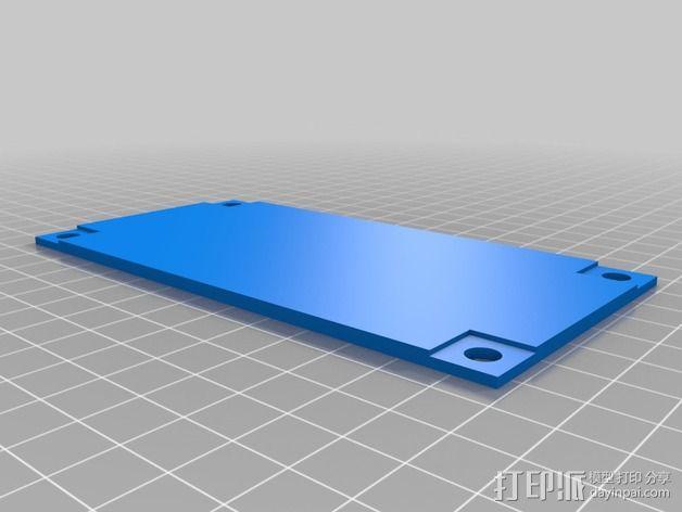 波音737飞机仪表盘面板 3D模型  图15