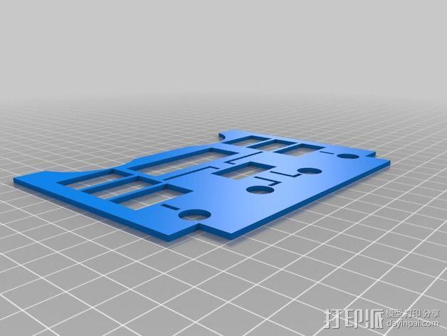 波音737飞机仪表盘面板 3D模型  图17