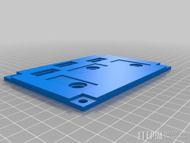 波音737飞机仪表盘面板 3D模型  图18