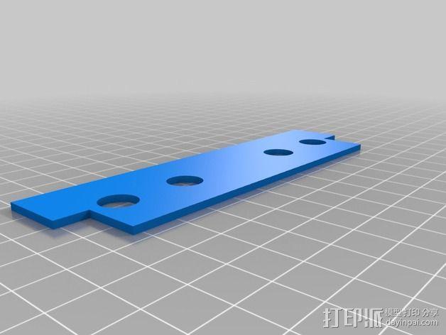 波音737飞机仪表盘面板 3D模型  图21
