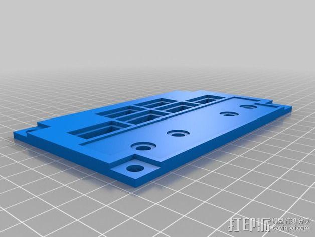 波音737飞机仪表盘面板 3D模型  图24