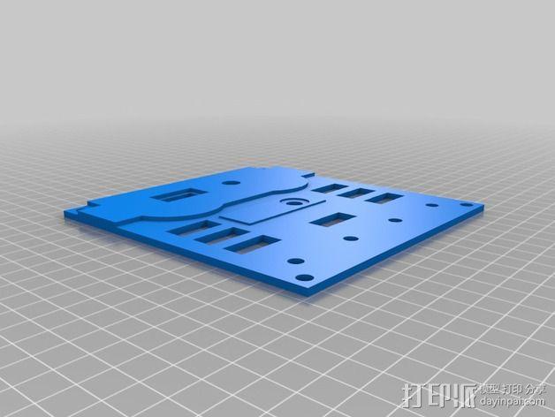 波音737飞机仪表盘面板 3D模型  图22