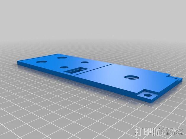 波音737飞机仪表盘面板 3D模型  图25