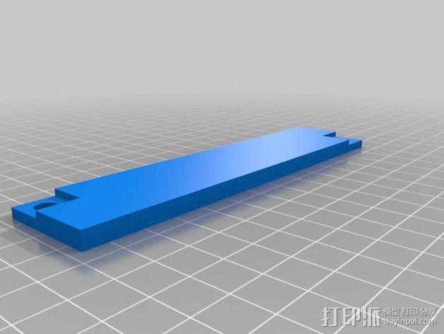波音737飞机仪表盘面板 3D模型  图27