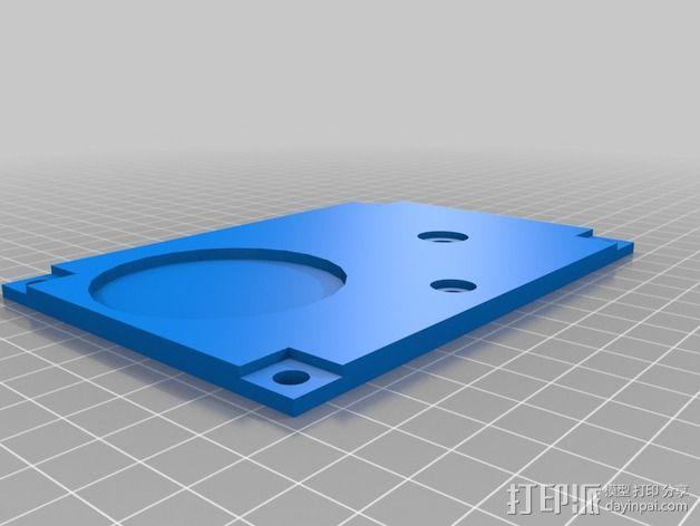 波音737飞机仪表盘面板 3D模型  图29