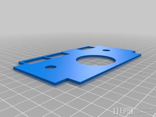 波音737飞机仪表盘面板 3D模型  图28