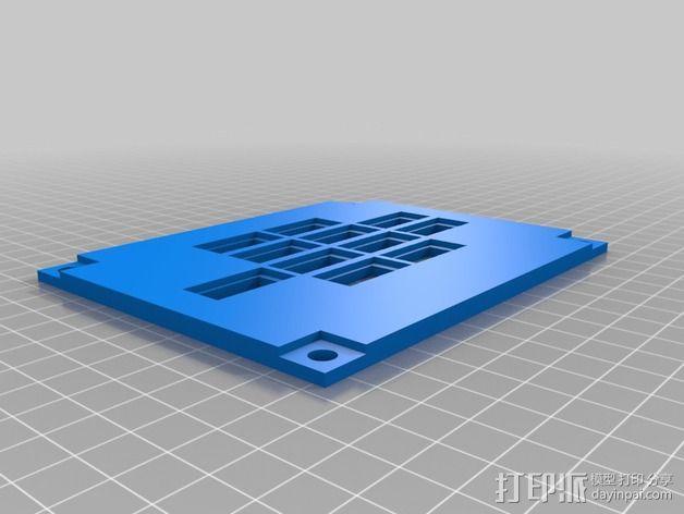 波音737飞机仪表盘面板 3D模型  图31