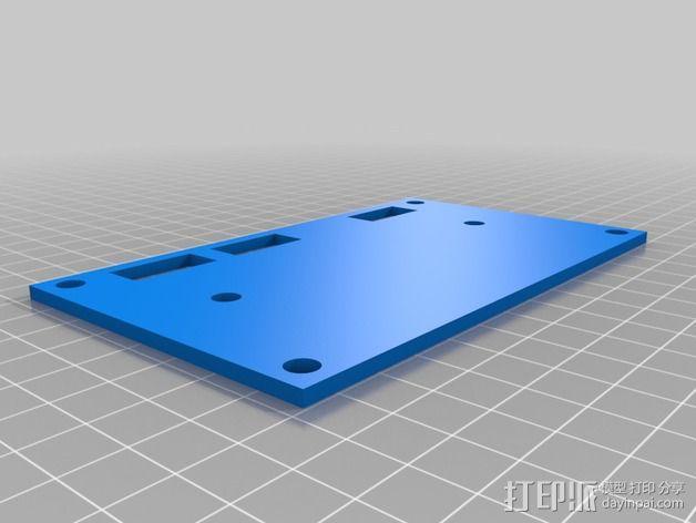 波音737飞机仪表盘面板 3D模型  图30
