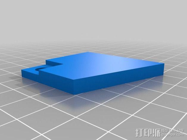 波音737飞机仪表盘面板 3D模型  图34