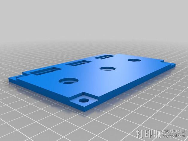波音737飞机仪表盘面板 3D模型  图33