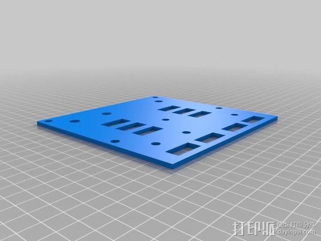 波音737飞机仪表盘面板 3D模型  图37