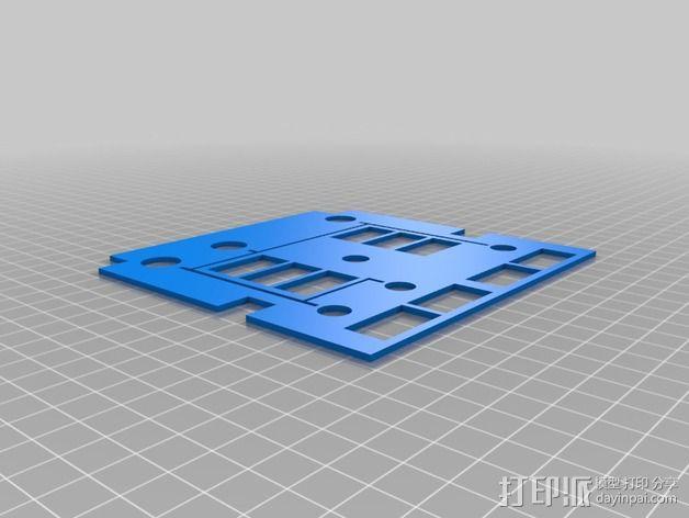 波音737飞机仪表盘面板 3D模型  图36