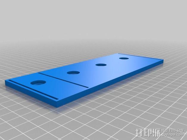 波音737飞机仪表盘面板 3D模型  图38