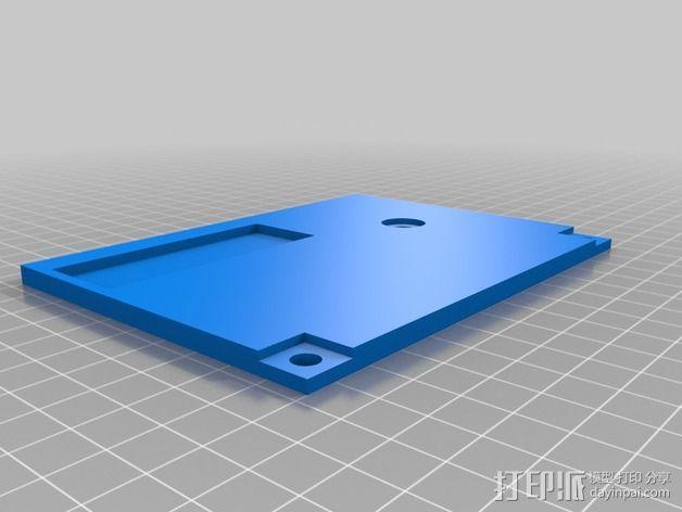 波音737飞机仪表盘面板 3D模型  图39