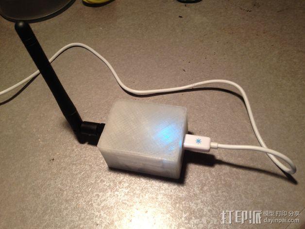 微型试验电路板外壳 3D模型  图1