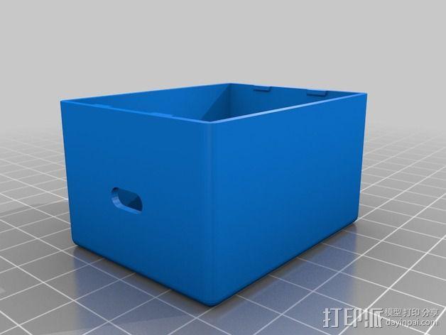 微型试验电路板外壳 3D模型  图2