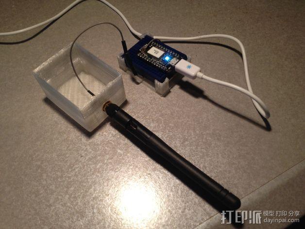微型试验电路板外壳 3D模型  图4